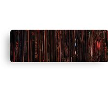Moviebarcode: Sequence from Dusk Till Dawn (1996) Table dance Canvas Print
