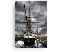 HMS Gannet  Canvas Print
