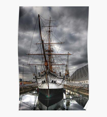 HMS Gannet  Poster