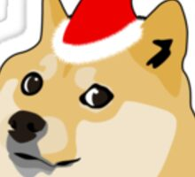 Christmas Doge Wishes Sticker