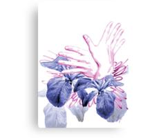 flight binary code hands digital fine art Canvas Print