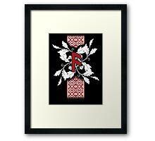 Ansuz/Asa rune Framed Print