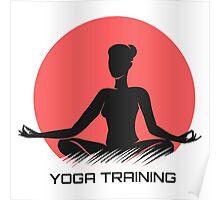 Yoga Emblem  Poster