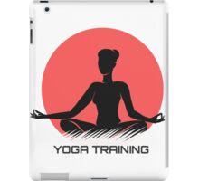 Yoga Emblem  iPad Case/Skin