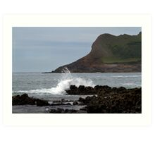 View From Mewslade Bay Art Print