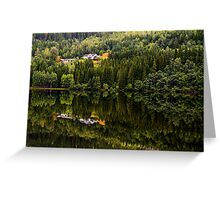 Reflected nature Greeting Card