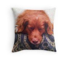 """""""Kaya Sleeping"""" Throw Pillow"""