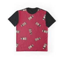 Antique Alien No.1 - Tile Version 001 (Red) Graphic T-Shirt