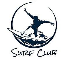 Surfer Club Print DesignTemplate Photographic Print