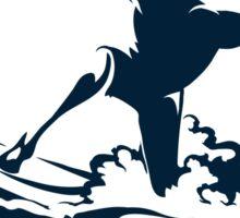 Surfer Club Print DesignTemplate Sticker