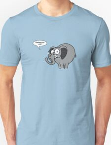 Elephants are cool! Unisex T-Shirt