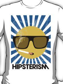 HIPSTERISM (SERIES) [blue/black] T-Shirt