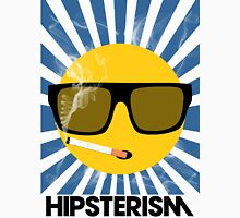 HIPSTERISM (SERIES) [blue/black] Unisex T-Shirt