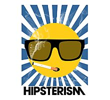 HIPSTERISM (SERIES) [blue/black] Photographic Print