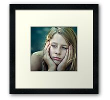 The Kid Framed Print