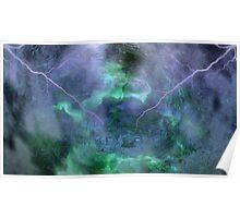 At Ceti Tau - Quadtrant X Trickster Loki Nebula-b Poster
