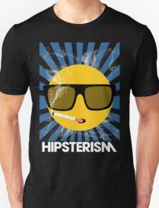 HIPSTERISM (SERIES) [blue/white] Unisex T-Shirt