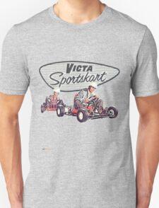 Victa Sportskart Vintage Theme T-Shirt