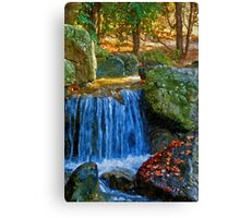 Blue Water Spring Canvas Print