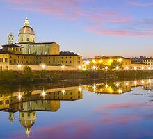 Florence sunset by Federico Del Monte