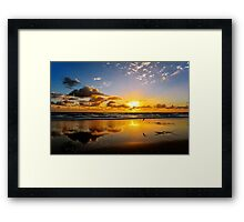Golden Sunrise.... Framed Print