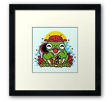 KAERU Framed Print