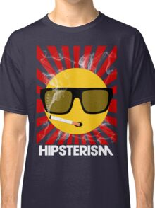 HIPSTERISM (SERIES) [red/white] Classic T-Shirt