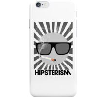 HIPSTERISM (SERIES) [black & white] iPhone Case/Skin