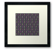 Toy Soldiers - Pattern 001 Framed Print