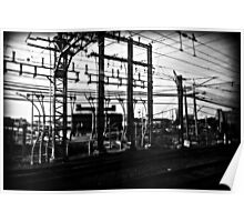 Train Power Lines II  Poster