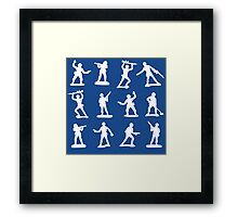 Toy Soldiers Vers 003 Framed Print