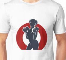 Gym or Fitness Club Emblem Unisex T-Shirt