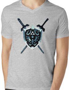 Legend of Zelda - Hylian Shield (LARGER VERSION) Mens V-Neck T-Shirt