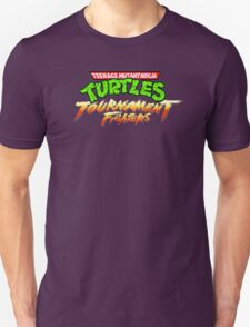 TMNT Tournament Fighters (SNES) Title Screen T-Shirt