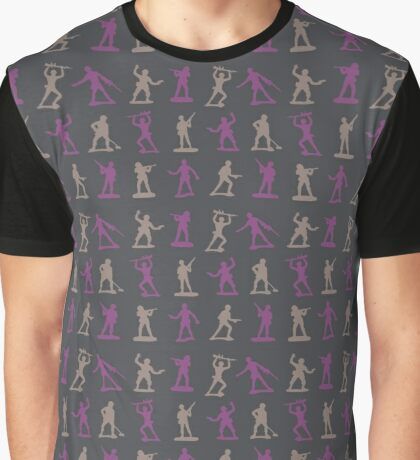 Toy Soldiers - Pattern 001 Graphic T-Shirt