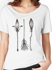 Three Broomsticks - Harry Potter Inspired Illustration Women's Relaxed Fit T-Shirt