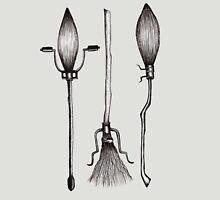 Three Broomsticks - Harry Potter Inspired Illustration Unisex T-Shirt