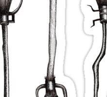 Three Broomsticks - Harry Potter Inspired Illustration Sticker