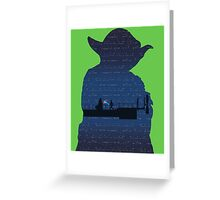 Empire Strikes Back Greeting Card