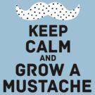 keep calm dots by csecsi