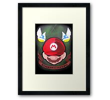 In Mario Nos Confídimus Framed Print
