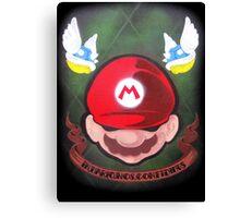 In Mario Nos Confídimus Canvas Print