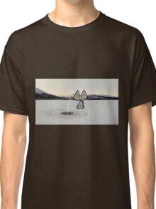 Cat Ice Fishing Classic T-Shirt