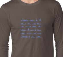 Ships set Long Sleeve T-Shirt
