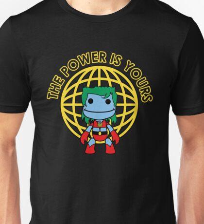 Captain Little Big Planet - Multiple Shirt Colors, Plain Text Unisex T-Shirt