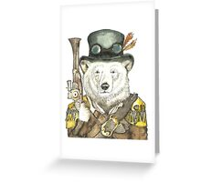Polar Bear Warden Greeting Card
