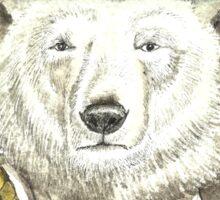 Polar Bear Warden Sticker
