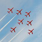 The Red Arrows - Diamond 7 by The Walker Touch