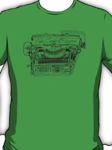 The Typewriter Review T-Shirt