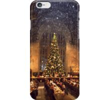 Hogwarts at Christmas iPhone Case/Skin